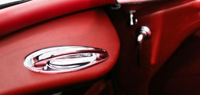 Austin-Healey 3000 MK II inner closeup view