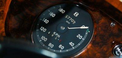 Bentley S1 1959 speedometer