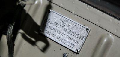 Bentley S1 1959 badge