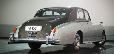 Bentley S1 1959 rear right view