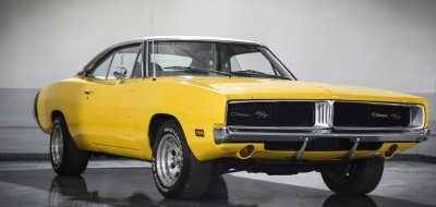 Dodge Charger R/T 1969 front right view