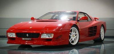 Ferrari F512TR Testarossa 1993 front left view
