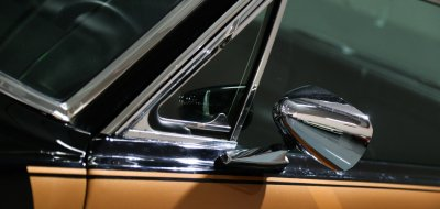 Ford Mustang 1967 side closeup view