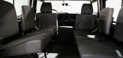Land Rover Defender 1997 interior