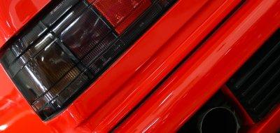 Maserati Shamal taillight