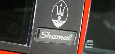 Maserati Shamal logo