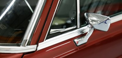 Mercedes Benz 280SEL 1972 side mirror