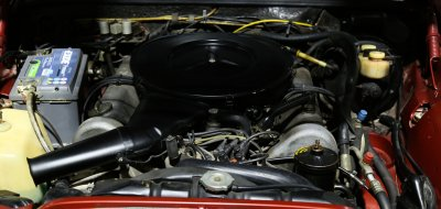 Mercedes Benz 280SEL 1972 engine