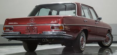 Mercedes Benz 280SEL 1972 rear right view