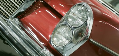 Mercedes Benz 280SEL 1972 headlight
