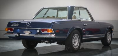 Mercedes Benz SL280 1969 rear right view