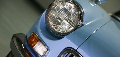 MG B 1963 headlight