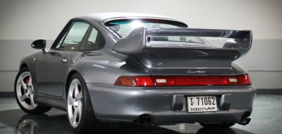Porsche 993 1998 rear left view