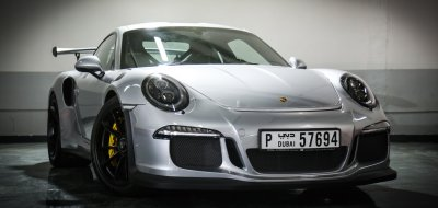 Porsche GT3 RS 2016 front right view