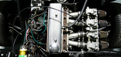 Triumph Herald 1965 engine