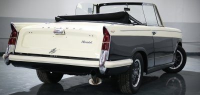 Triumph Herald 1965 rear right view