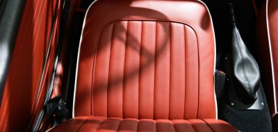 Triumph TR4 seat