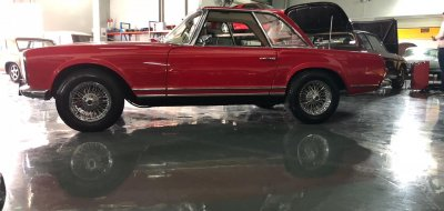 Mercedes Benz 230 SL 1964 - Restoration Project