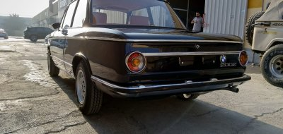 Restoration of BMW 2002 - year 1972