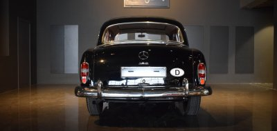 Back view of Mercedes Benz 190 1960