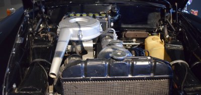 Engine of Mercedes Benz 190 1960
