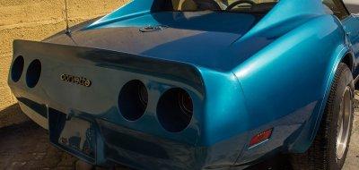 Restoration Project - Chevrolet Corvette 1974 - Before