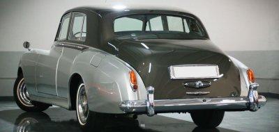 Bentley S1 1959 rear left view