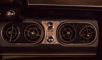 Studebaker Gran Turismo Hawk 1963 air vents