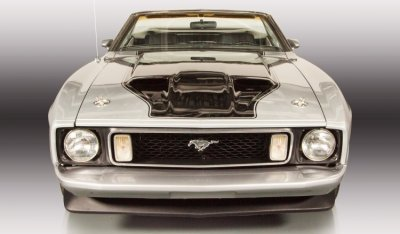 "Ford Mustang ""Boss"" 1973 front view"