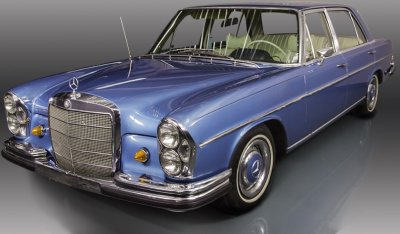 Mercedes Benz SEL300 1967 front right view