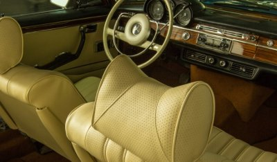 Interior Mercedes Benz SEL300 1967