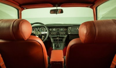 Jaguar E-Type 1971 interior
