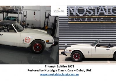 Triumph Spitfire 1978 - Before & After restoration