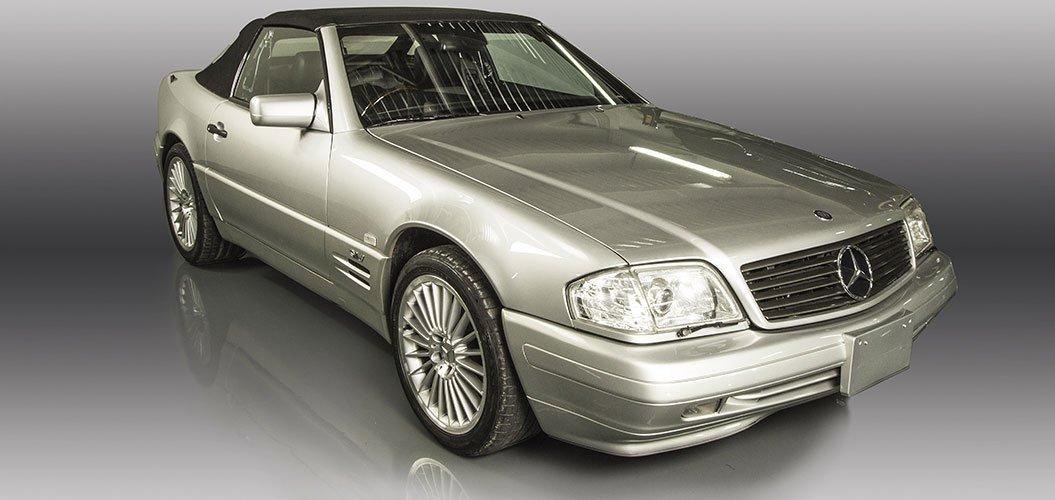 Mercedes Benz SL600 1998