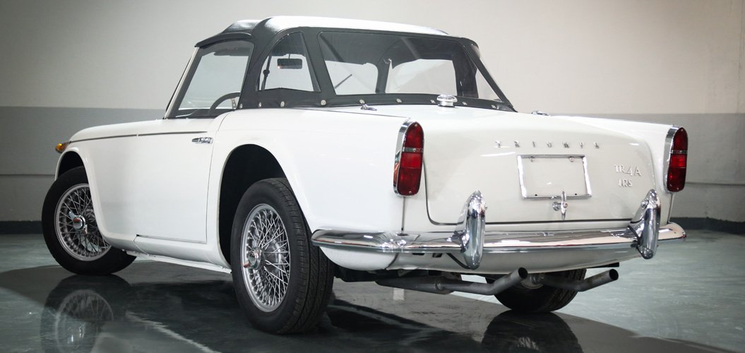 Triumph Tr4a 1966 Classic Cars In Dubai Uae